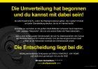 """Flyer """"Umverteilung"""" 90g/m² 1000 Stück A5"""