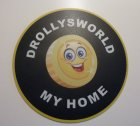"Mousepad ""DROLLYSWORLD MY HOME"" (1 Stück)"